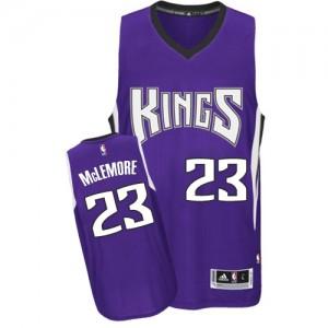 Sacramento Kings #23 Adidas Road Violet Authentic Maillot d'équipe de NBA en soldes - Ben McLemore pour Homme