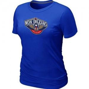 New Orleans Pelicans Big & Tall Bleu Tee-Shirt d'équipe de NBA vente en ligne - pour Femme