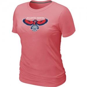 Tee-Shirt NBA Atlanta Hawks Rose Big & Tall - Femme