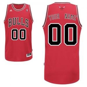 Maillot Chicago Bulls NBA Road Rouge - Personnalisé Swingman - Homme