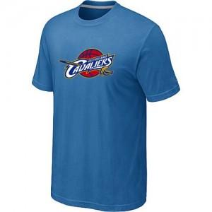Cleveland Cavaliers Big & Tall Tee-Shirt d'équipe de NBA - Bleu clair pour Homme