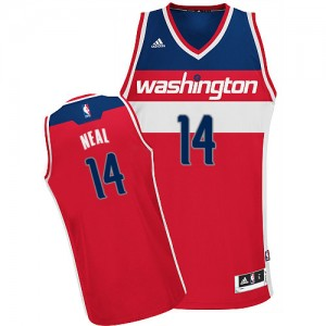 Maillot Swingman Washington Wizards NBA Road Rouge - #14 Gary Neal - Homme