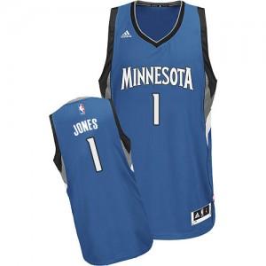 Maillot NBA Swingman Tyus Jones #1 Minnesota Timberwolves Road Slate Blue - Homme
