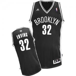 Brooklyn Nets Julius Erving #32 Road Swingman Maillot d'équipe de NBA - Noir pour Homme