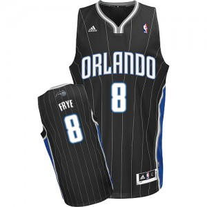 Maillot Swingman Orlando Magic NBA Alternate Noir - #8 Channing Frye - Homme