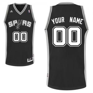 San Antonio Spurs Swingman Personnalisé Road Maillot d'équipe de NBA - Noir pour Homme