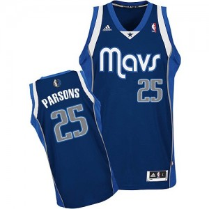 Maillot NBA Swingman Chandler Parsons #25 Dallas Mavericks Alternate Bleu marin - Homme