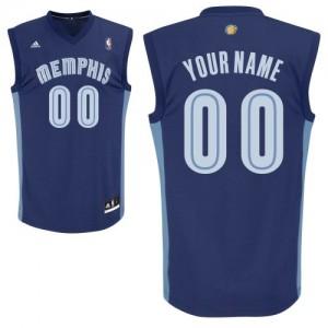 Memphis Grizzlies Swingman Personnalisé Road Maillot d'équipe de NBA - Bleu marin pour Enfants