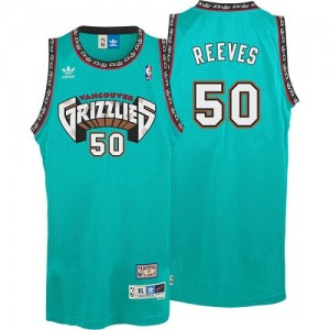 Maillot NBA Authentic Bryant Reeves #50 Memphis Grizzlies Hardwood Classics Throwback Vert - Homme