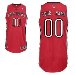 Toronto Raptors Authentic Personnalisé Road Maillot d'équipe de NBA - Rouge pour Homme