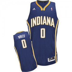 Maillot Swingman Indiana Pacers NBA Road Bleu marin - #0 C.J. Miles - Homme