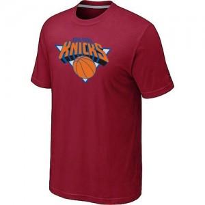 New York Knicks Big & Tall Rouge Tee-Shirt d'équipe de NBA Peu co?teux - pour Homme