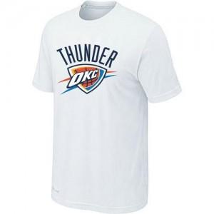 Tee-Shirt NBA Oklahoma City Thunder Big & Tall Blanc - Homme