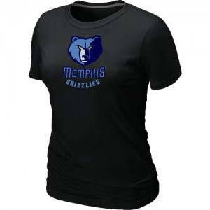 T-shirt principal de logo Memphis Grizzlies NBA Big & Tall Noir - Femme