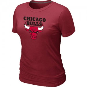 Tee-Shirt Rouge Big & Tall Chicago Bulls - Femme