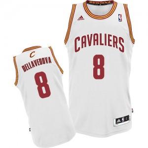 Maillot Adidas Blanc Home Swingman Cleveland Cavaliers - Matthew Dellavedova #8 - Homme