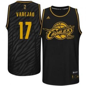 Cleveland Cavaliers Anderson Varejao #17 Precious Metals Fashion Swingman Maillot d'équipe de NBA - Noir pour Homme