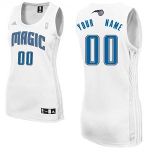 Maillot NBA Orlando Magic Personnalisé Swingman Blanc Adidas Home - Femme