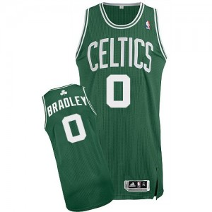 Maillot NBA Vert (No Blanc) Avery Bradley #0 Boston Celtics Road Authentic Homme Adidas