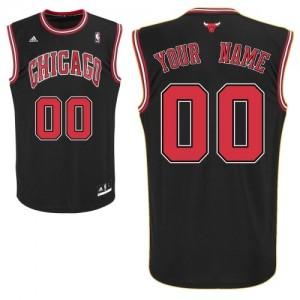 Maillot Chicago Bulls NBA Alternate Noir - Personnalisé Swingman - Enfants