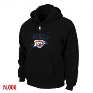 Pullover Sweat à capuche Oklahoma City Thunder NBA Noir - Homme
