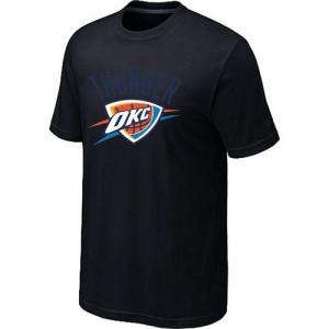 Oklahoma City Thunder Big & Tall Noir Tee-Shirt d'équipe de NBA en soldes - pour Homme