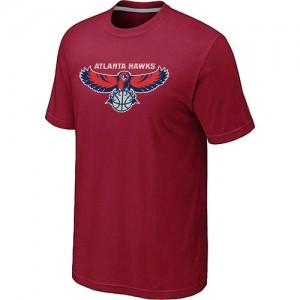 Tee-Shirt NBA Rouge Atlanta Hawks Big & Tall Homme