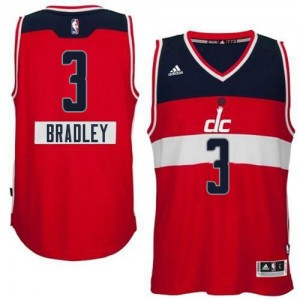 Maillot NBA Authentic Bradley Beal #3 Washington Wizards 2014-15 Christmas Day Rouge - Homme