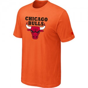 Tee-Shirt NBA Chicago Bulls Big & Tall Orange - Homme