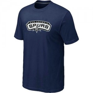 T-shirt principal de logo San Antonio Spurs NBA Big & Tall Marine - Homme