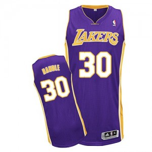 Maillot Adidas Violet Road Authentic Los Angeles Lakers - Julius Randle #30 - Homme