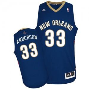 Maillot NBA Swingman Ryan Anderson #33 New Orleans Pelicans Road Bleu marin - Homme