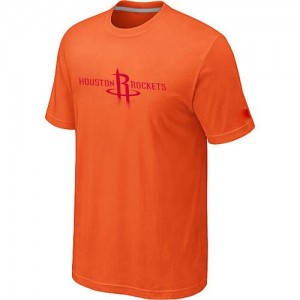 Houston Rockets Big & Tall Orange Tee-Shirt d'équipe de NBA Magasin d'usine - pour Homme
