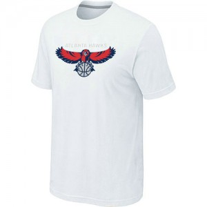 Tee-Shirt Blanc Big & Tall Atlanta Hawks - Homme