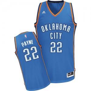 Oklahoma City Thunder #22 Adidas Road Bleu royal Swingman Maillot d'équipe de NBA en soldes - Cameron Payne pour Homme