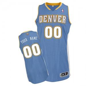 Maillot NBA Authentic Personnalisé Denver Nuggets Road Bleu clair - Enfants