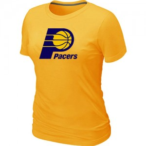 Tee-Shirt NBA Indiana Pacers Jaune Big & Tall - Femme