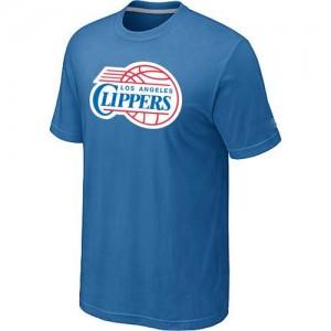 Los Angeles Clippers Big & Tall Tee-Shirt d'équipe de NBA - Bleu clair pour Homme