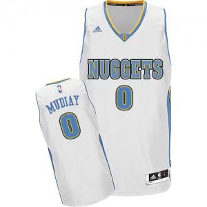 Maillot Swingman Denver Nuggets NBA Home Blanc - #0 Emmanuel Mudiay - Homme