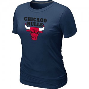 Tee-Shirt Marine Big & Tall Chicago Bulls - Femme