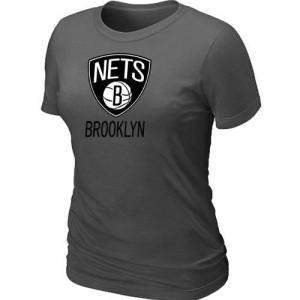 Brooklyn Nets Big & Tall Tee-Shirt d'équipe de NBA - Gris foncé pour Femme