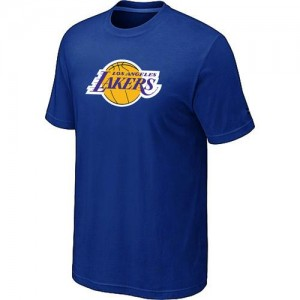 T-shirt principal de logo Los Angeles Lakers NBA Big & Tall Bleu - Homme