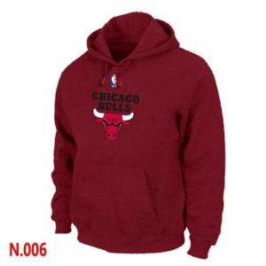 Chicago Bulls Gris foncé Sweat à capuche d'équipe de NBA Magasin d'usine - pour Homme