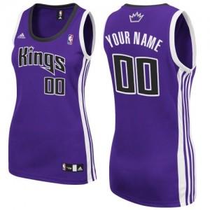 Maillot Sacramento Kings NBA Road Violet - Personnalisé Swingman - Femme