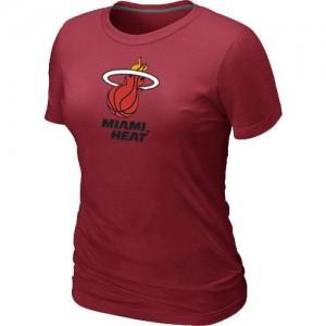 Tee-Shirt Rouge Big & Tall Miami Heat - Femme