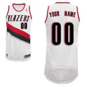 Maillot Portland Trail Blazers NBA Home Blanc - Personnalisé Authentic - Homme