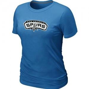 Tee-Shirt NBA Bleu clair San Antonio Spurs Big & Tall Femme
