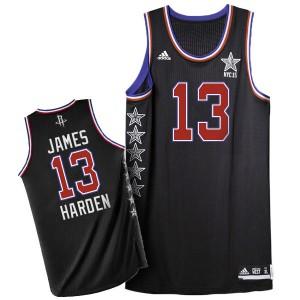Maillot Authentic Houston Rockets NBA 2015 All Star Noir - #13 James Harden - Homme