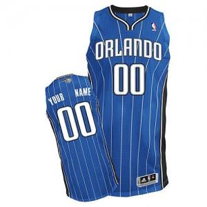 Maillot Orlando Magic NBA Road Bleu royal - Personnalisé Authentic - Enfants
