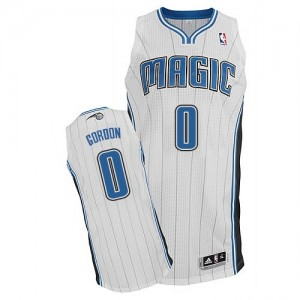 Maillot NBA Authentic Aaron Gordon #0 Orlando Magic Home Blanc - Homme